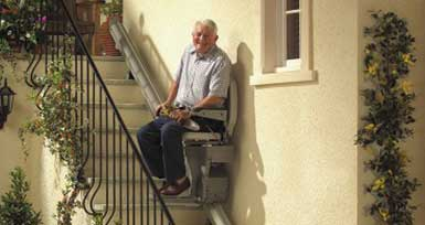 Outdoor Stairlift Northern Ireland