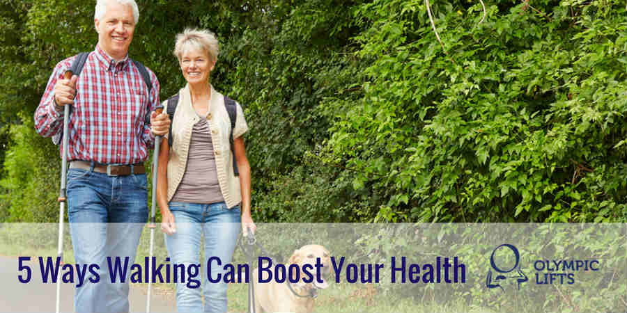 5 Ways Walking Can Boost Your Health
