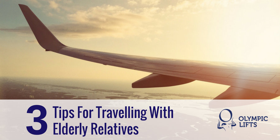 3 Tips For Travelling With Elderly Relatives