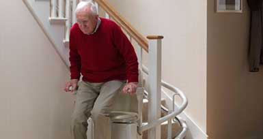Curved Stairlifts in Northern Ireland